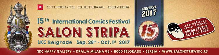 کمیک فارسی ۲۰۱۷ فراخوان پانزدهمین جشنواره کمیک استریپ صربستان سال ۲۰۱۷ ...