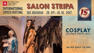 COSPLAY NA SALONU STRIPA U SKC-u 2017.