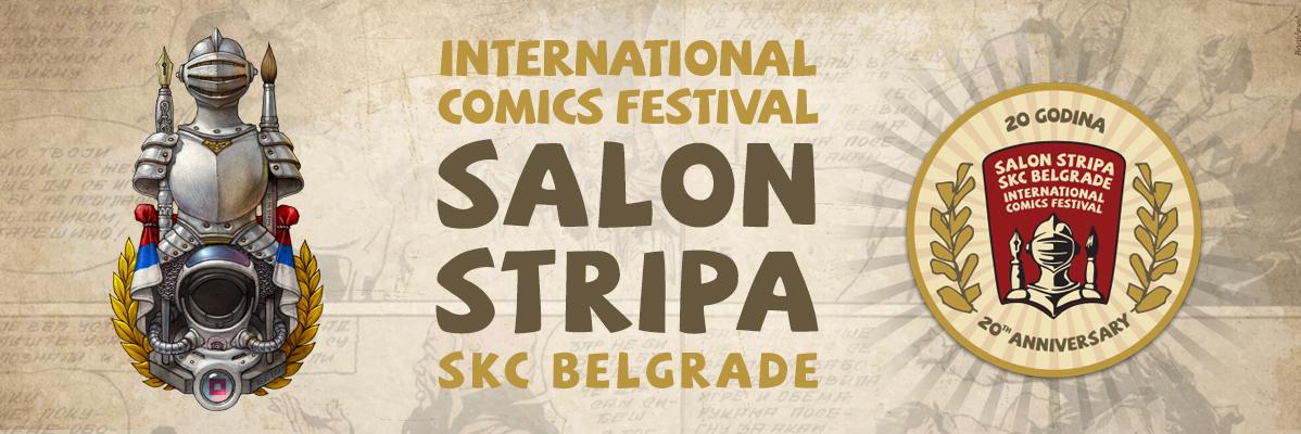 Konkurs Međunarodnog salona stripa SKC Beograd 2018